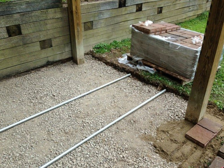 Screed Rails Image