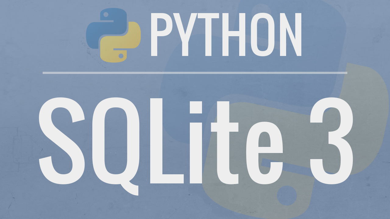 Python SQLite Tutorial: Complete Overview - Creating a